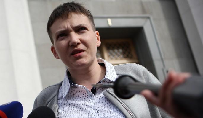 Савченко накинулась на карателей СБУ