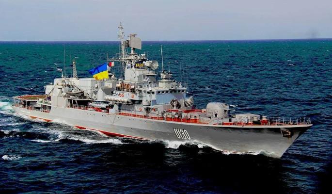 Флагманский фрегат стал позором флота Украины