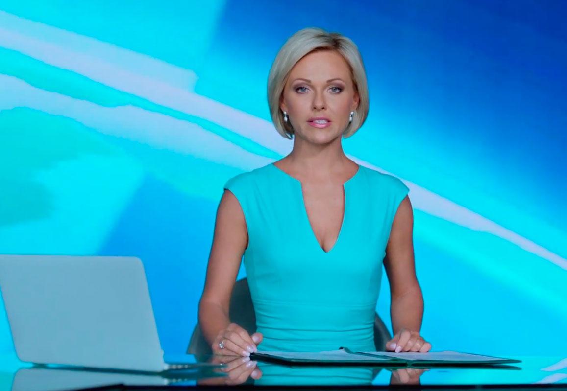 Ведущая новостей 1 канала беременна 32