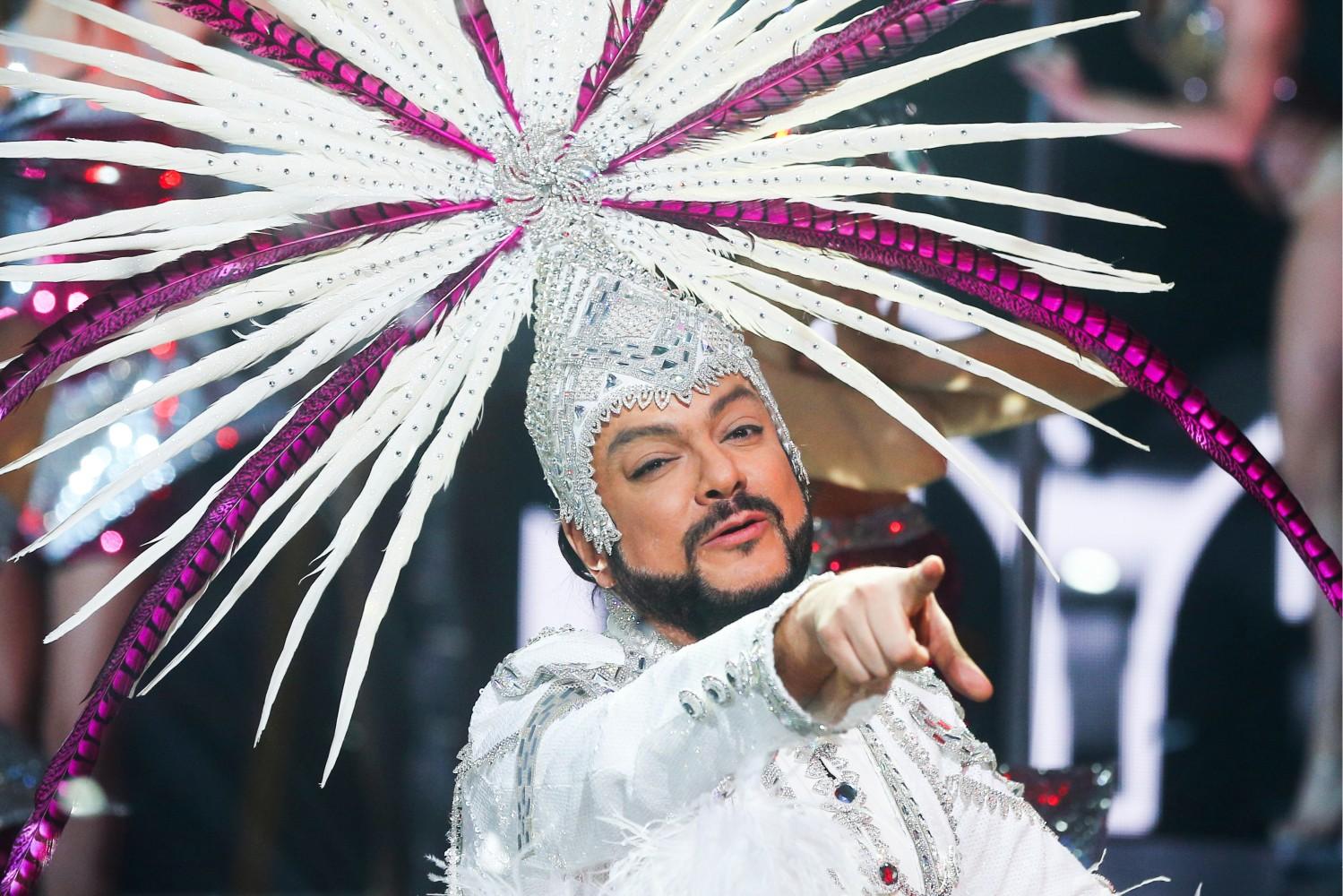 Российский концерт новый год 2017