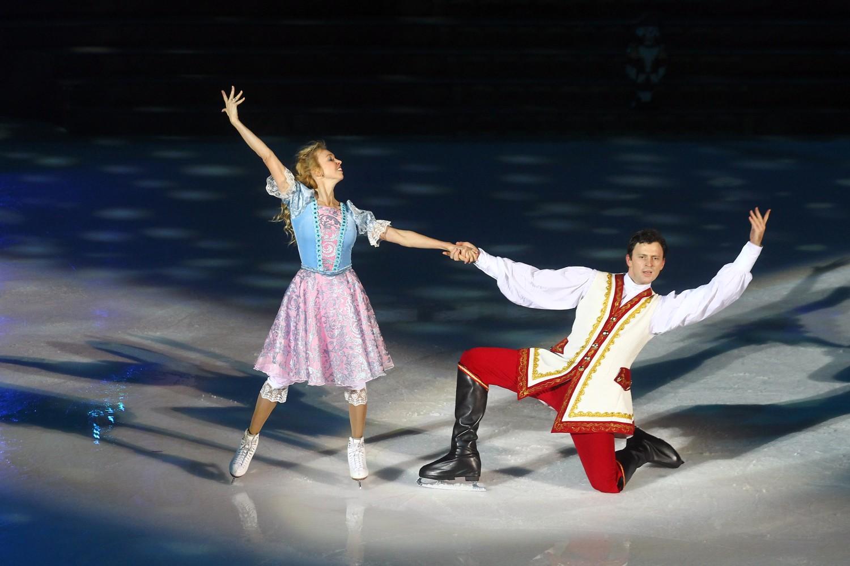 Танец плющенко в женском платье
