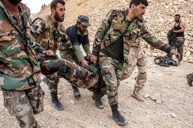 Удар коалиции США в Сирии привел к жертвам среди сирийских военных