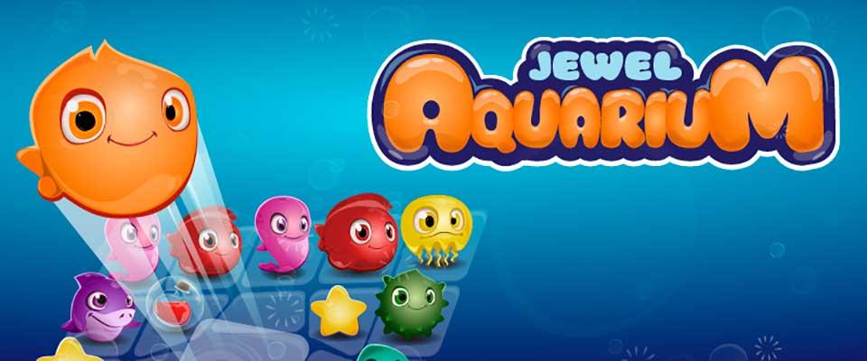 Три в ряд в аквариуме