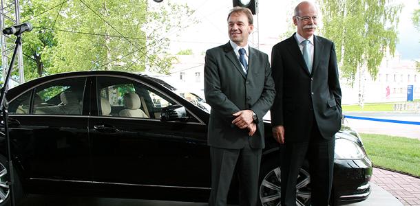 Глава Mercedes дал совет автопрому
