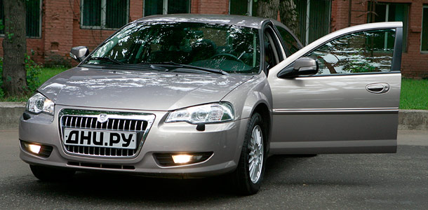Тест-драйв ГАЗ Volga Siber