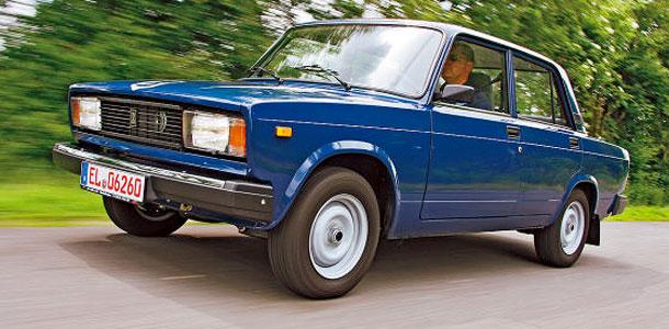 В Германию тайно завозят Lada Nova