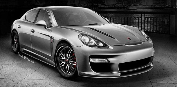 Русский тюнинг Porsche Panamera