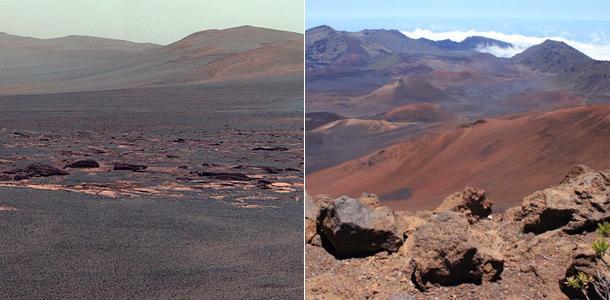 Curiosity нашел на Марсе гавайский песок