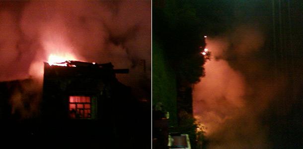 Под Новгородом сгорела психбольница