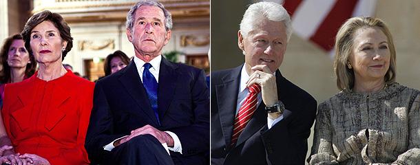 Буши и Клинтоны простятся с Манделой