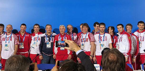 Российские хоккеисты вызвали ажиотаж