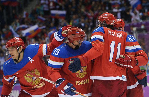 Россия с разгрома начала Олимпиаду