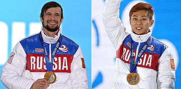 Россию прорвало в Сочи золотыми триумфами