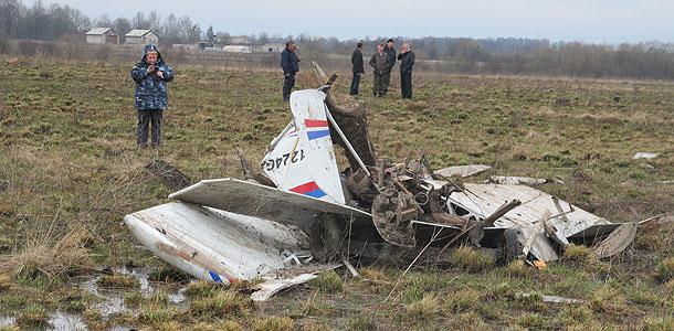 Под Калининградом разбился Як-54
