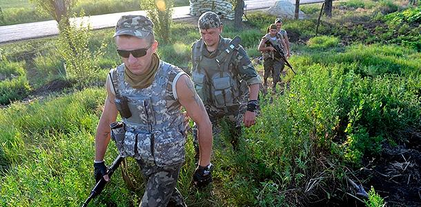 Украинцы воюют голыми и безоружными