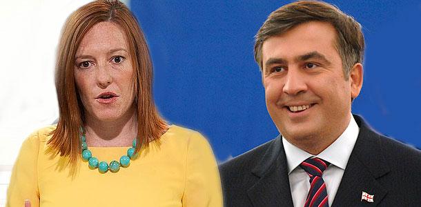 Псаки вступилась за Саакашвили