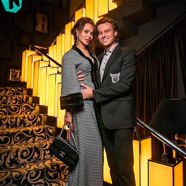 Прохор Шаляпин с Анечкой Калашниковой. Фото: instagram.com/lenaklezkina