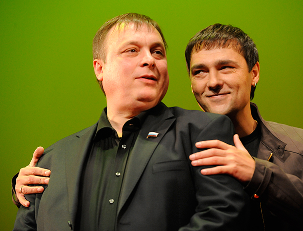 Андрей Разин и Юрий Шатунов. Фото: ТАСС
