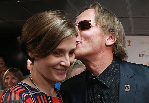 Иван Охлобыстин с женой Оксаной. Фото: Сергей Фадеичев/ТАСС