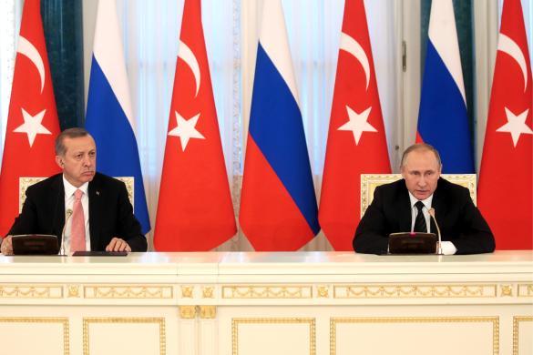 Владимир Путин и Реджеп Эрдоган. Фото: Михаил Метцель/ТАСС