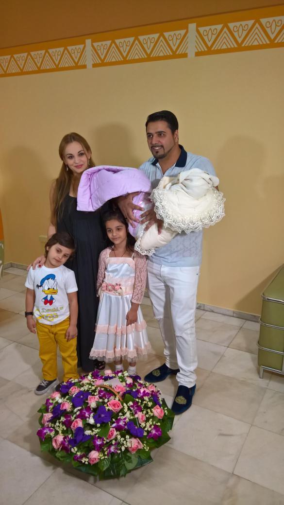 Александр Бердников, супруга Ольга и их дети. Фото: Дни.Ру/Феликс Грозданов