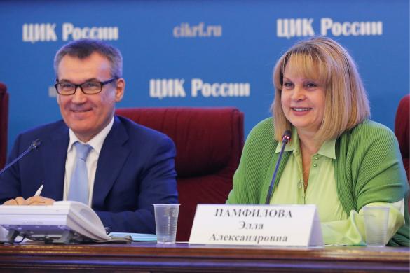 Александр Клюкин и Элла Памфилова. Фото: Антон Новодережкин/ТАСС