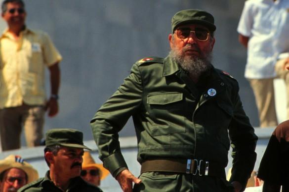 Фидель Кастро. Фото: GLOBAL LOOK press/Bill Gentile