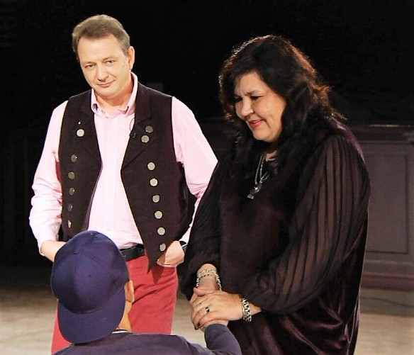 Марат Башаров и Надежда Шевченко. Фото: пресс-служба телеканала ТНТ