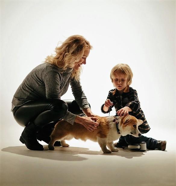 Катя Гордон с сыном. Фото: пресс-служба певицы