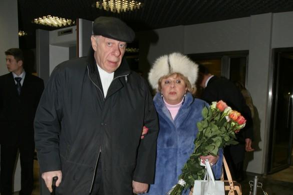 Лариса Рубальская с мужем. Фото: GLOBAL LOOK press/Alexander Keltik