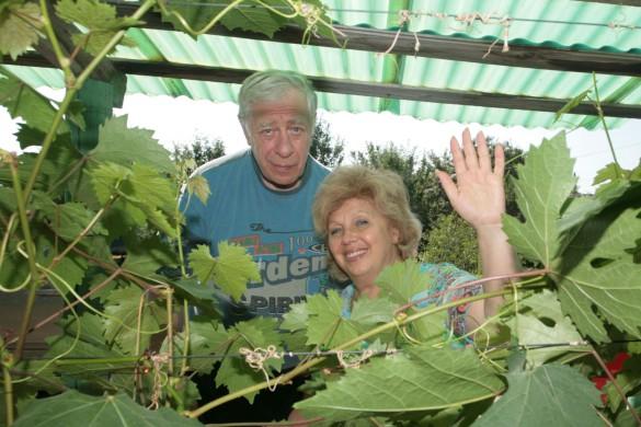 Лариса Рубальская с мужем. Фото: GLOBAL LOOK press/Natalya Loginova