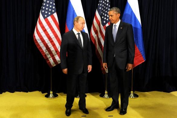 Владимир Путин и Барак Обама. Фото: kremlin.ru