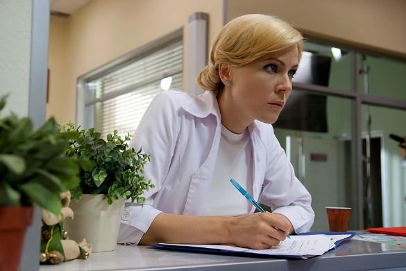 """Мария Куликова. Кадр из сериала """"Склифосовский"""""""