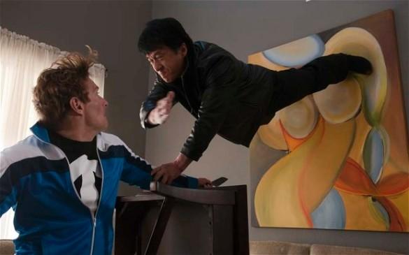 """Джеки Чан. Кадр из фильма """"Час пик – 2"""""""