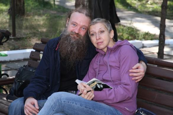 Андрей Жданов с женой Анной. Фото: vk.com/id353358877