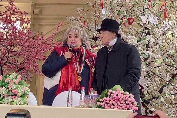 Татьяна Тарасова и Вячеслав Зайцев. Фото: Dni.Ru/Феликс Грозданов