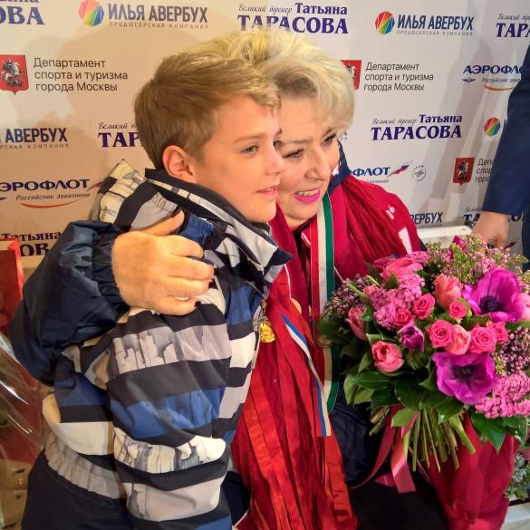 Татьяна Тарасова и внучатый племянник Мотя. Фото: Dni.Ru/Феликс Грозданов