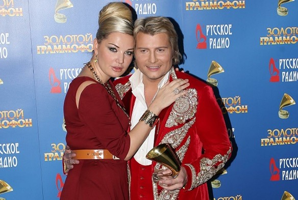 Мария Максакова и Николай Басков. Фото: GLOBAL LOOK press/Dmitry Golubovich