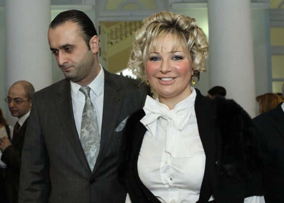 Джамиль Алиев и Мария Максакова. Фото: ИТАР-ТАСС/Александра Краснова