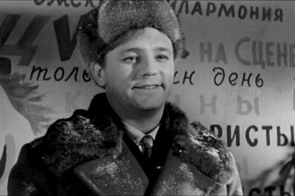 """Николай Рыбников. Кадр из фильма """"Девчата"""""""
