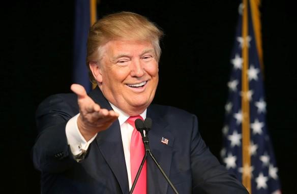 Дональд Трамп. Фото: Joe Raedle/Getty Images
