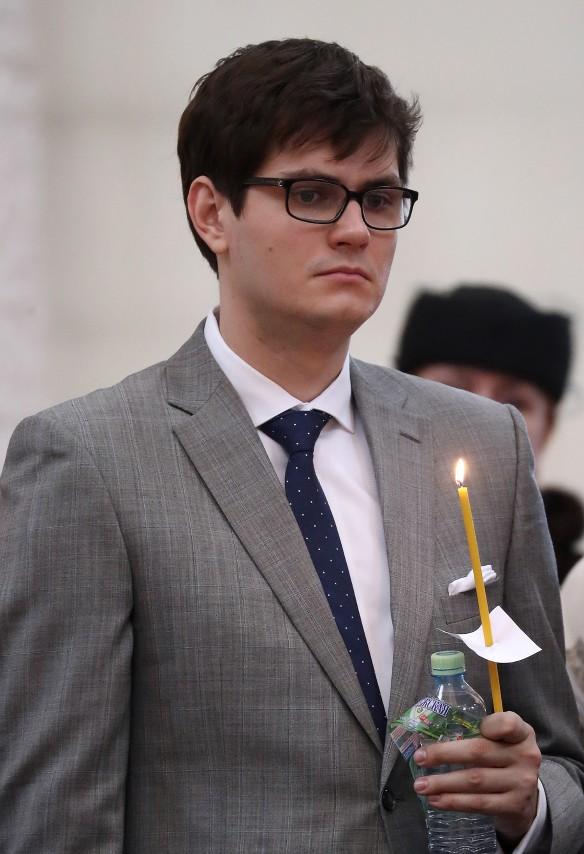 Сын Е.Евтушенко Евгений. Фото: Вячеслав Прокофьев/ТАСС