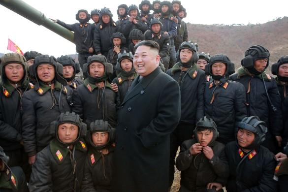 Ким Чен Ын. Фото: GLOBAL LOOK press/Kcna