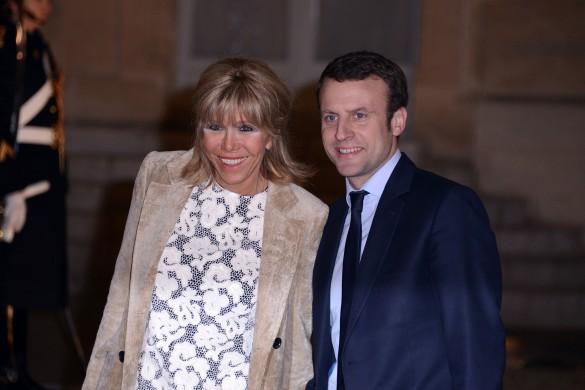 Брижит и Эммануэль Макрон. Фото: GLOBAL LOOK press/Solenne Loustalan