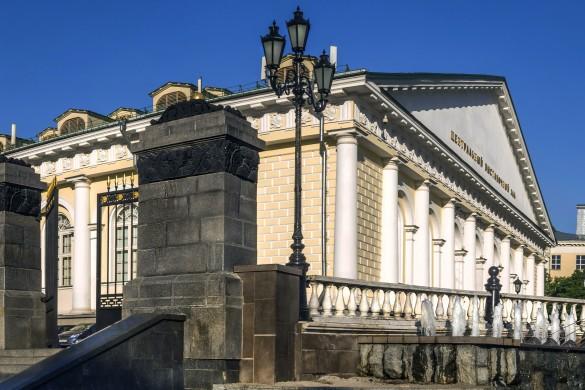 "Выставочный зал ""Манеж"". Фото: GLOBAL LOOK press/Konstantin Kokoshkin"