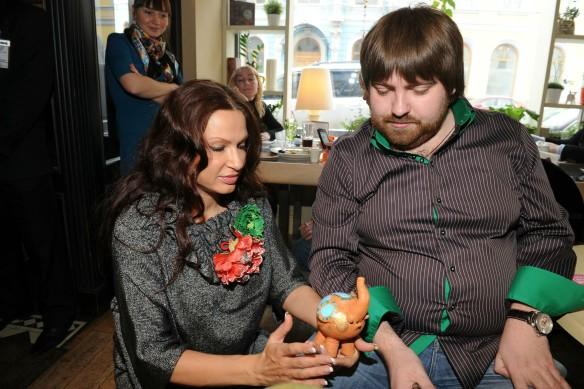 Эвелина Бледанс и  Алесандр Семин. Фото: GLOBAL LOOK press/Anatoly Lomohov