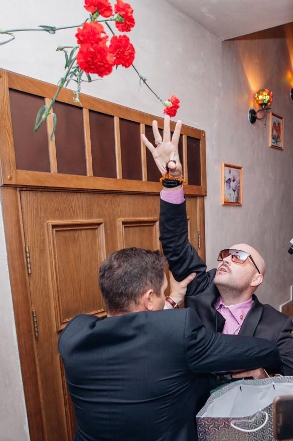 Дмитрий Торин на свадьбе у Дианы Шурыгиной. Фото: личный архив.