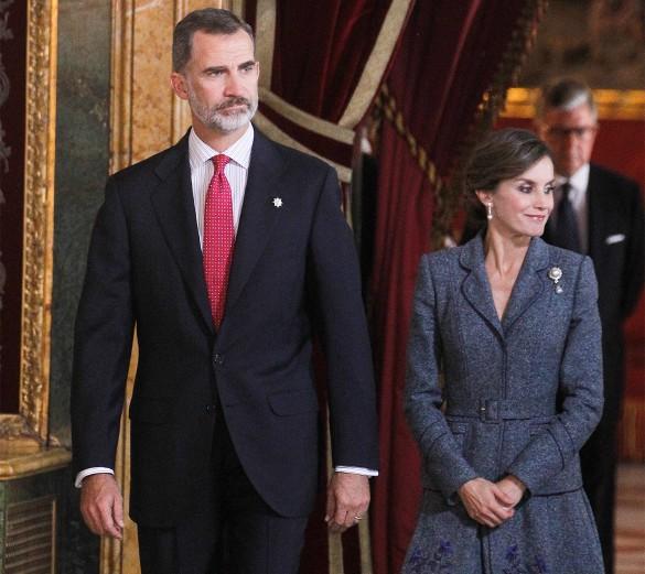 Король Филипп VI и королева-консорт Летисия. Фото: GLOBAL LOOK press