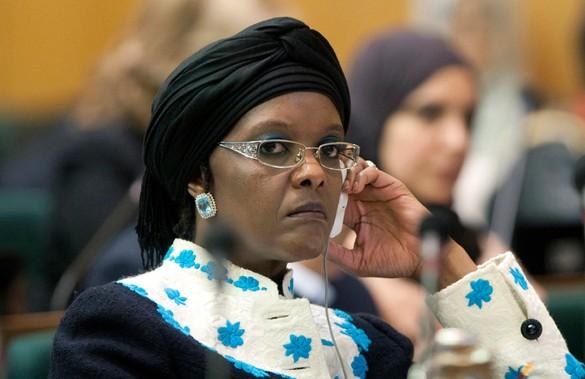 Грейс Мугабе. Фото: GLOBAL LOOK press