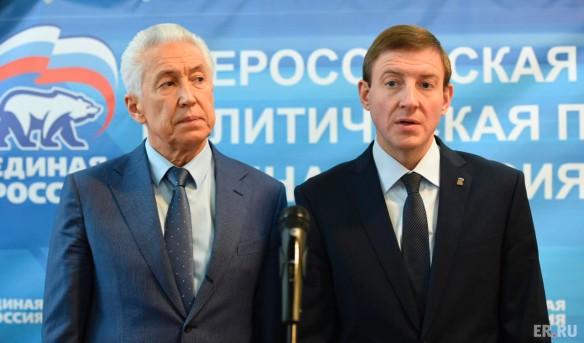 Владимир Васильев, Андрей Турчак. Фото: er.ru